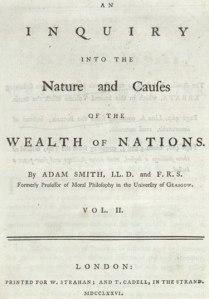 Wealth of Nations, copertina 1766