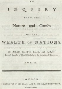 Wealth of Nations, copertina 1766