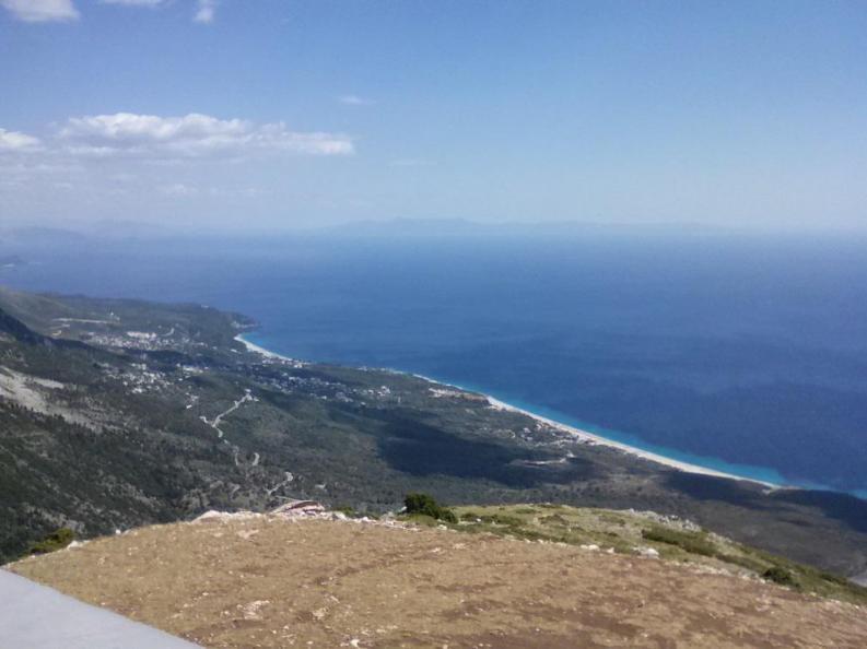 Panorama del litorale