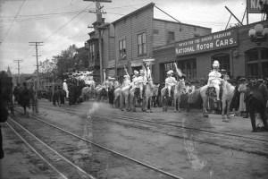 Parata alla Fiesta de Los Angeles, 1906
