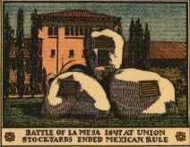 Battle of La Mesa 1847 at Union Stockyards ended Mexican rule