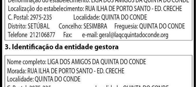 LICENÇA DE FUNCIONAMENTO DO SERVIÇO DE APOIO DOMICILIÁRIO