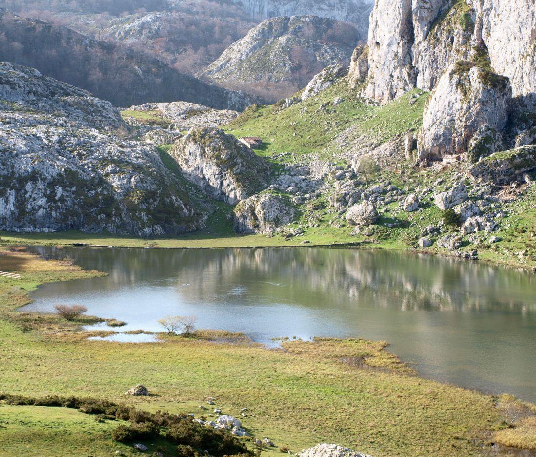 Lagos Covadonga. Lago Ercina.