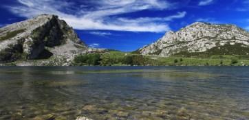 El Lago Enol en Picos de Europa