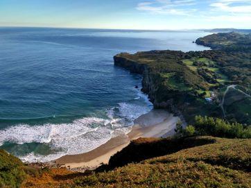 Playa de Andrín en Llanes