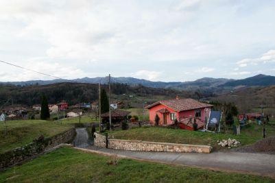 Panorámica de los Apartamentos Rurales La Quintana de Romillo
