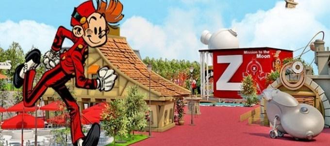 Spirou, le nouveau parc d'attraction en Paca ouvre en juin