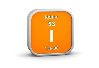 Molecular iodine for breast health.