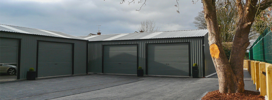 Steel Sheds  Steel Buildings  Steel Garages  Stables  Larach Buildings Ireland