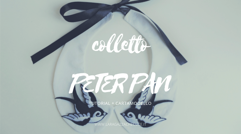 colletto peter pan fai da te