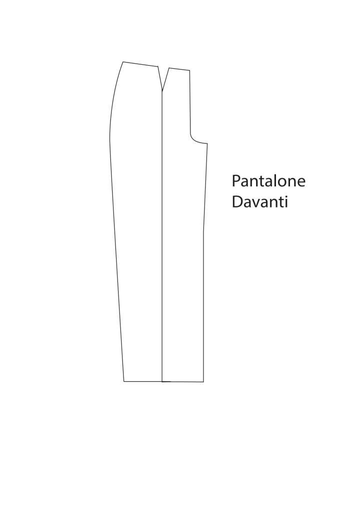 cartamodello pantaloni