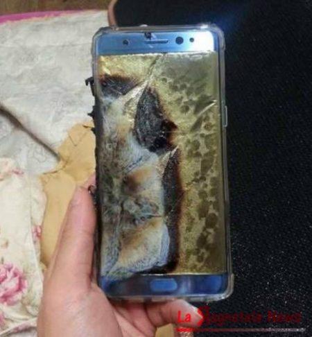 Samsung Galaxy Note 7 a rischio esplosione