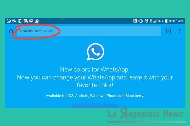 Cambiare i colori a Whatsapp? Attenzione, il messaggio è una truffa