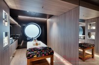 Guests can enjoy a variety of treatments in the largest MSC Aurea Spa on any MSC Cruises' ship