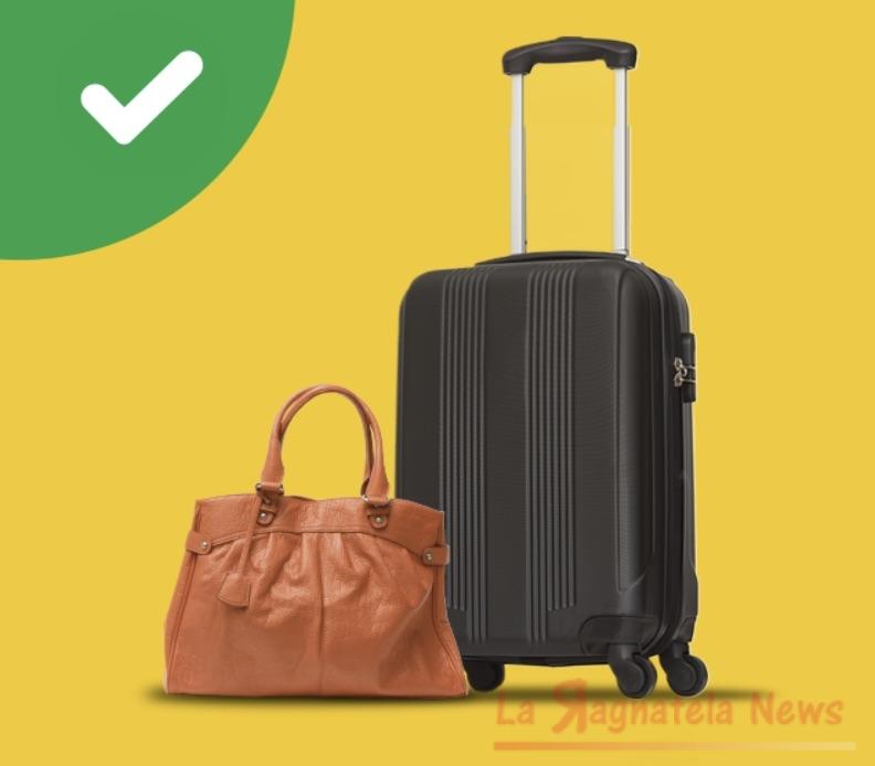 Ryanair: niente trolley gratis. In cabina permessi solo borse e zainetti