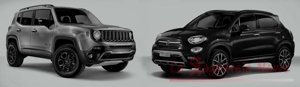 Restyling di metà carriera in vista per 500X e Renegade 2019 [La Jeep debutta il 6 giugno a Torino]
