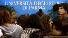"""Parma, 07.04.2016 - Università: inaugurazione salone """"Studiare a Parma"""" 2016. FOTO MARCO VASINI Cell. 339.4333787 E-mail vasinimarco@libero.it"""