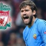 Calcio, Alisson dalla Roma al Liverpool per 75 milioni di eu