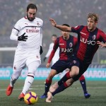 Calcio, Bologna Milan senza reti: nove squadre in sei punti!