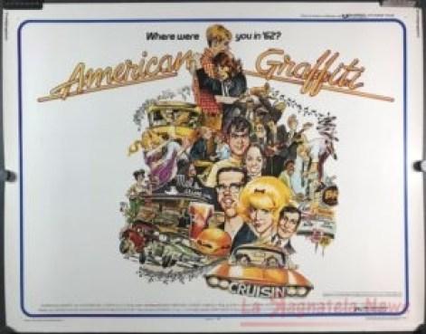 Il poster di American Graffiti (1973)