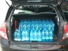acqua in plastica