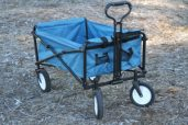 blue fold wagon