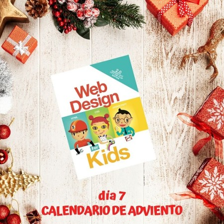 Web design for kids reseña libro calendario adviento literario