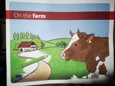On the farm oficina de publicaciones de la UE