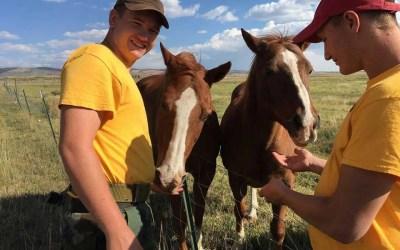 Wyoming Cowboy ChalleNGe Academy visits HORAH