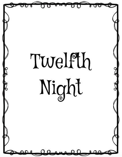 Shakespeare's Twelfth Night Vocabulary and Character Analysis