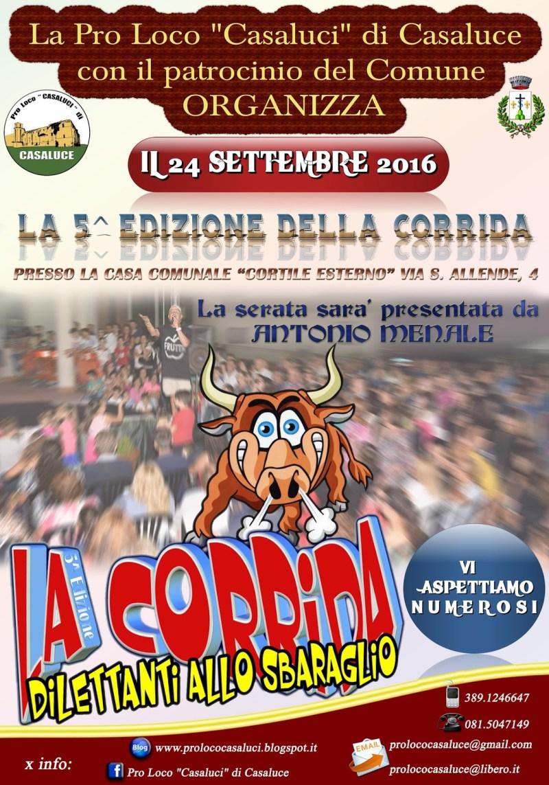 casaluce quinta edizione la corrida