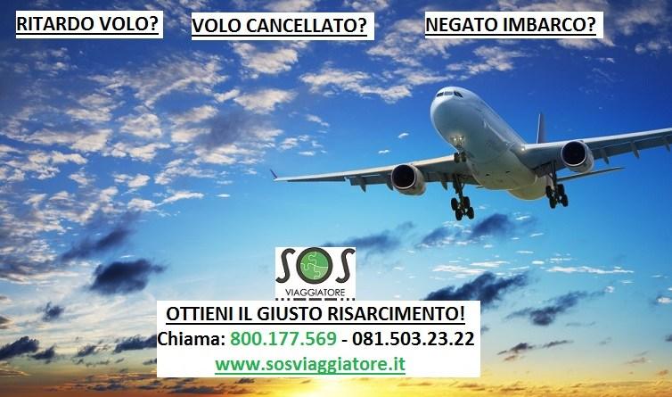 Problemi dei viaggiatori ritardo e cancellazione volo