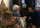 Fiastra. Salvini porta presepe napoletano a nonna Peppina