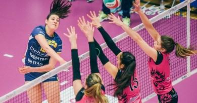 Volley Serie A2F. Alla Volalto Caserta non basta il cuore: sconfitta a Trento