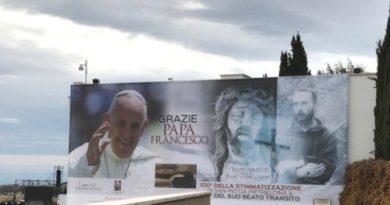 (DIRETTA VIDEO) Visita di Papa Francesco nei luoghi di Padre Pio
