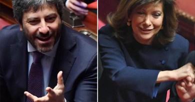 Camera e Senato, Fico e Casellati eletti presidenti