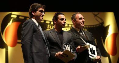 (FOTO) Gramigna fa il pieno di premi al Festival del Cinema di Roma