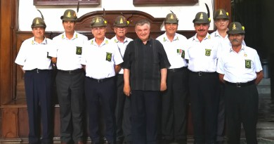 Salerno. Guardia d'Onore dell'ANFI al Tesoro di San Matteo