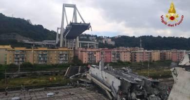 """Genova. """"Il ponte è crollato"""": ascolta audio della chiamata al 113"""