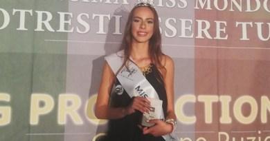 Sant'Agata de' Goti. L'aversana Martina Sorrentino vince la tappa di Miss Mondo