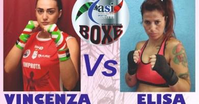 Teverola. Boxe, Vincenza Improta ed Elisa Aprea sul ring per il titolo nazionale femminile A.S.I.