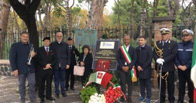 Pompei. Commemorato il Decorato Rodolfo Severino