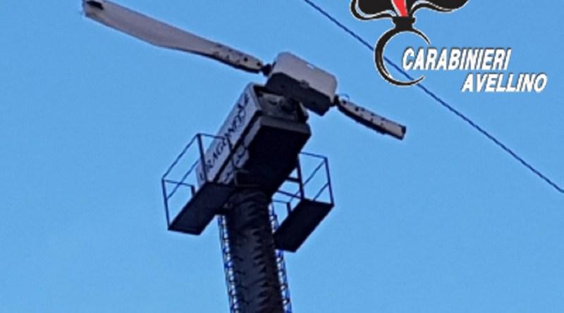 Si spezza una pala eolica, blitz Carabinieri Forestali: scatta il sequestro