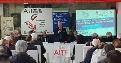 San Marcellino. 'Dalla donazione al trapianto': partecipazione all'iniziativa dell'AITF