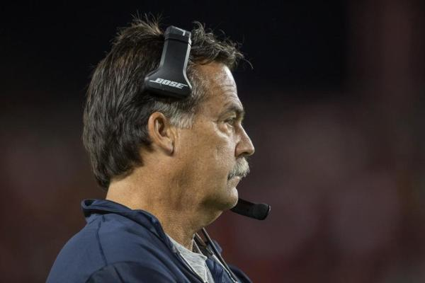 Rams' head coach Jeff Fisher (photo credit: Jeff Lewis / www.therams.com)