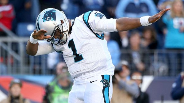 Panthers QB #1 Cam Newton photo credit: Getty Images