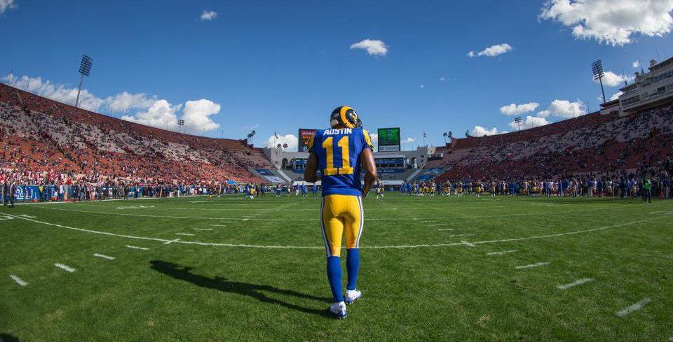 L.A. Rams' 2017-modstandere