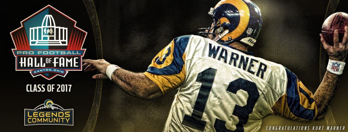 Kurt Warner optaget i Hall of Fame