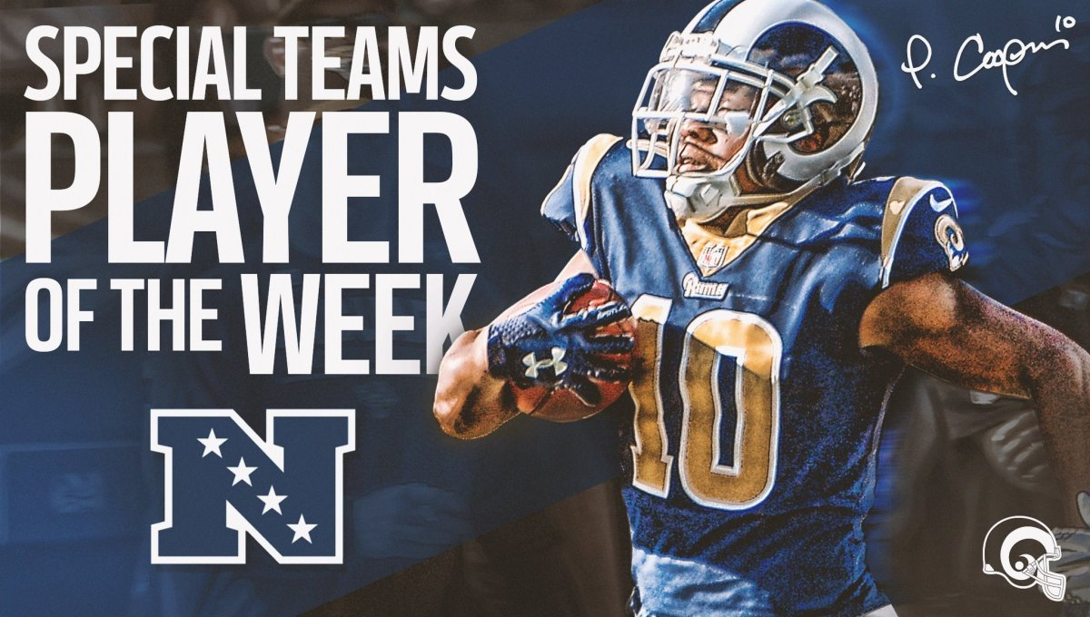 NFC Special Teams Player of the Week