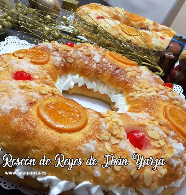 Roscón de Reyes de Ibán Yarza